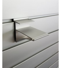 Shelf Brackets - Aluminium Shelf Bracket 16/18mm