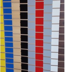 Slatwall Panels - Rainbow Colour NEW